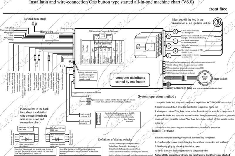 rav4 alarm wiring diagram