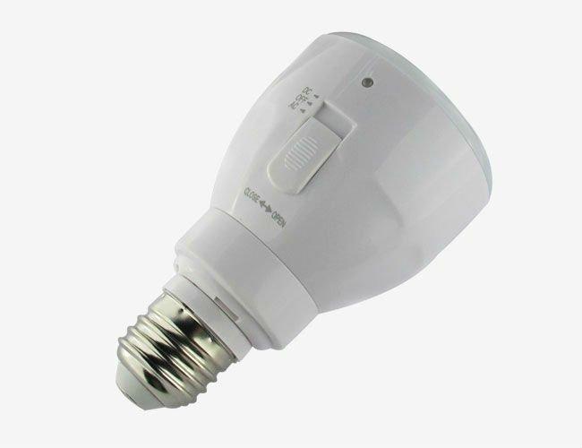 Battery Powered Light Bulb Lamp
