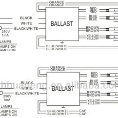 240v To 12v Transformer Wiring Diagram Landscape Concept Design Fluorescent Electronic Ballast T5 54w 4 Lamp 120-277v Hight Output Ul Listed, View ...