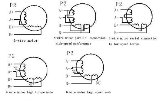 6 wire stepper motor wiring diagram