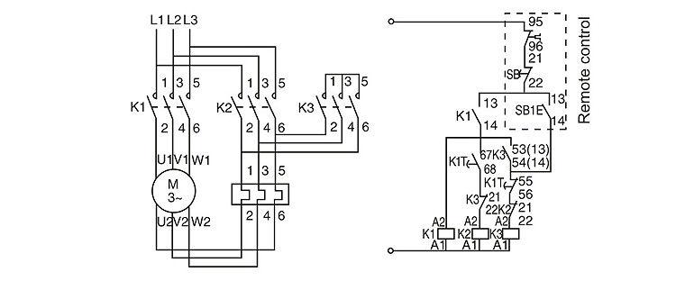QCX3 Star-delta Reduced Voltage Starter, View Starter