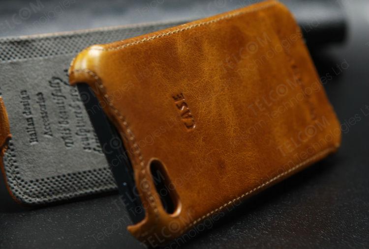 Top איכות אמיתי עור פרה case כיסוי עבור iPhone 5 5S , flip case כיסוי עבור iphone 5 5S, 100% עור פרה, משלוח חינם