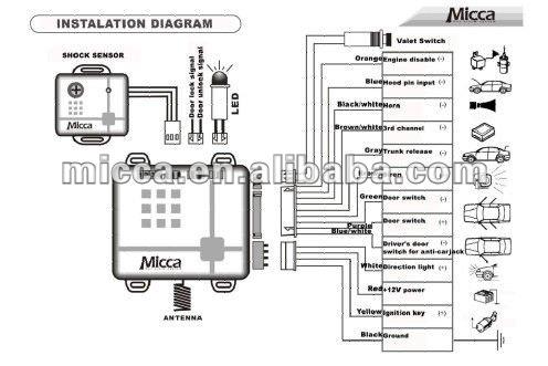 Universal Power Door Lock Kit Installation Instructions