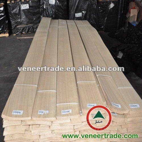 "Fancy quality White oak Rift-Cut wood veneer 24""w x 85""L with paper"