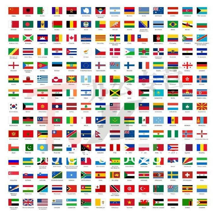 ᗗCroacia bandera que agita de la mano del envío libre 10 unids/set ...