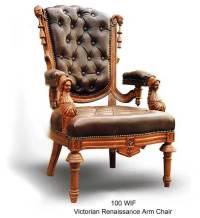 Victorian Renaissance fauteuil-Chaise de bureau-Id du ...