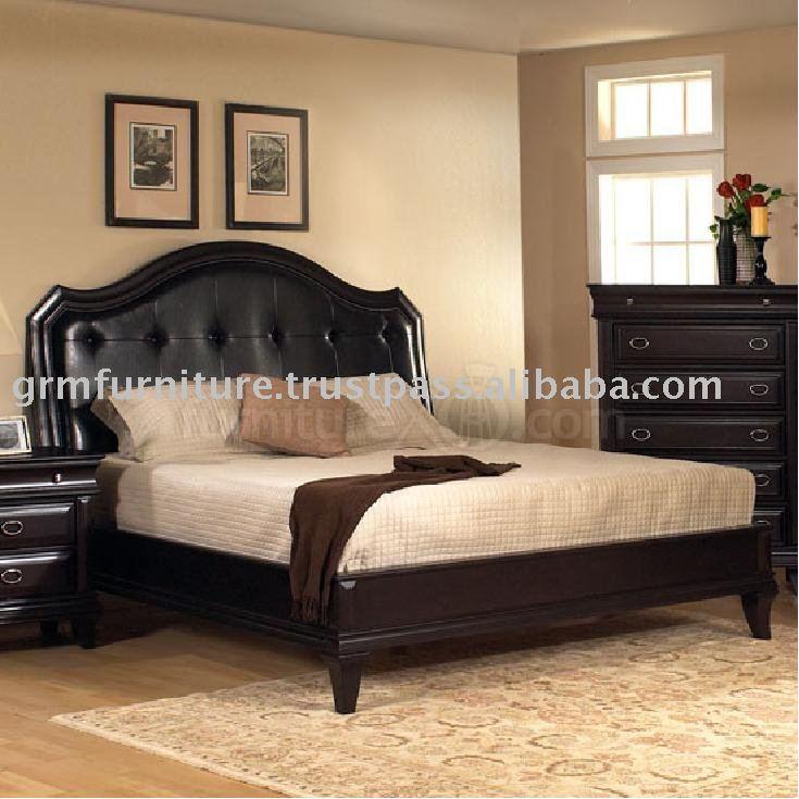 wooden bed set designs