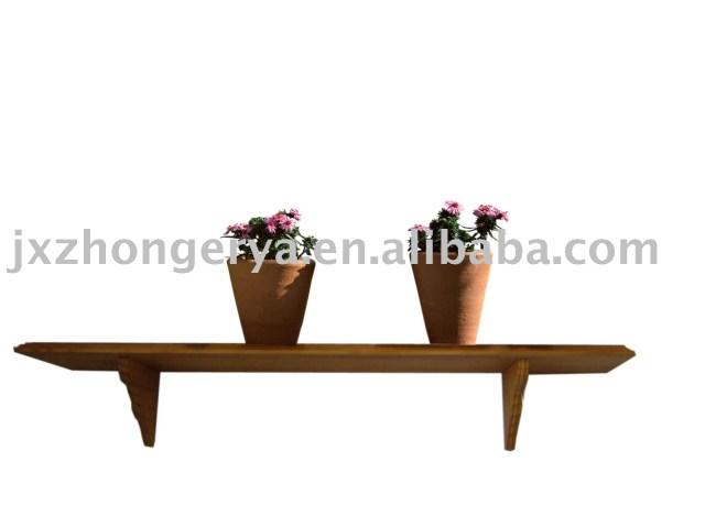 pine shelves/wooden shelf/wall shelf