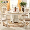 Solid wood dining tables and chairs round table round marble table jpg