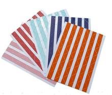 DIY Album Photo SCRAPBOOKING self adhesive PHOTO CORNER STICKERS Orange Blue Light Blue Red Pink 78pcs