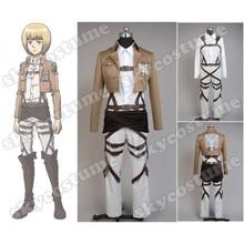Attack on Titan Armin Arlart Cosplay Costume Coat Jacket