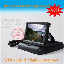 Free Shipping Car Monitor 4 3 inch TFT LCD screen Monitor DVD display truck school bus
