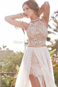 Sexy-Halter-Lace-Appliqued-Beach-Wedding-Dresses-Evening ...