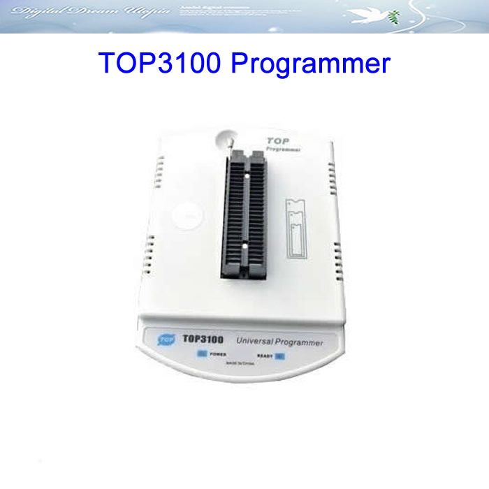 Free ship Programmer TOP3100 Universal USB EPROM Programmer ECU chips tunning