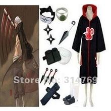 Free Shipping Apparel Naruto Cosplay Costum Naruto Akatsuki Hidan Cosplay Costume Set Halloween Costumes Party Cosplay
