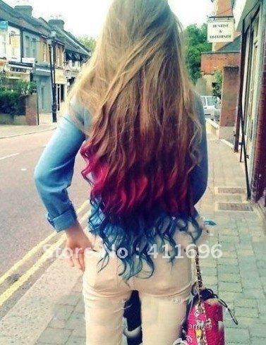 pastel hair color chalk