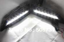 LED DRL daytime running light for bmw X1 1set Free shipping