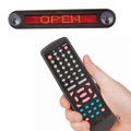 buy 2 get 1 Red LED car display remote control LED car sign LED Programmable Message