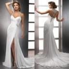 Halter Style Beach Wedding Dresses