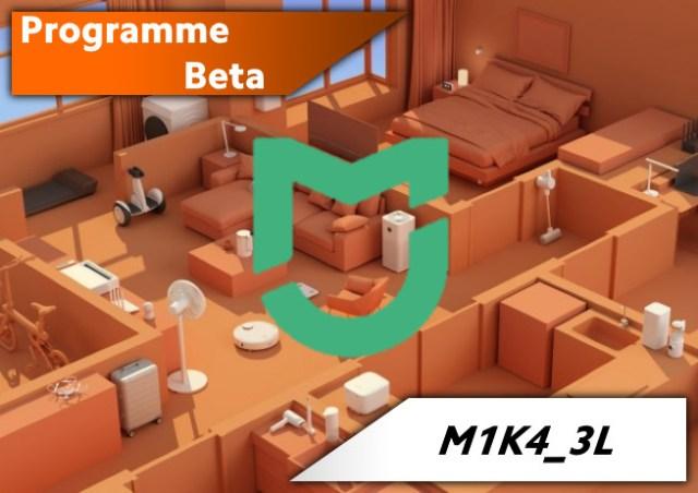 Programme de Recrutement pour l'app Mi Home en Beta