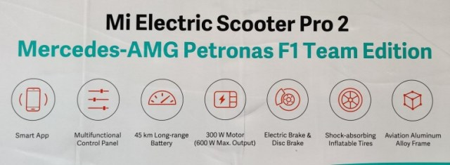 #Unboxing Mi Electric Scooter Pro 2 Mercedes-AMG-Petronas F1 Edition