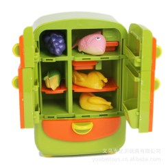 American Plastic Toys Custom Kitchen Modern Cabinets For Sale 星月玩具过家家玩具厨房玩具冰箱组早教益智类玩具bl D38688 优质企商网 美国塑料玩具定制厨房