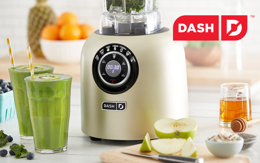 kitchen blenders premium cabinets manufacturers dash hsn make delicious healthy meals and treats with easy to use appliances