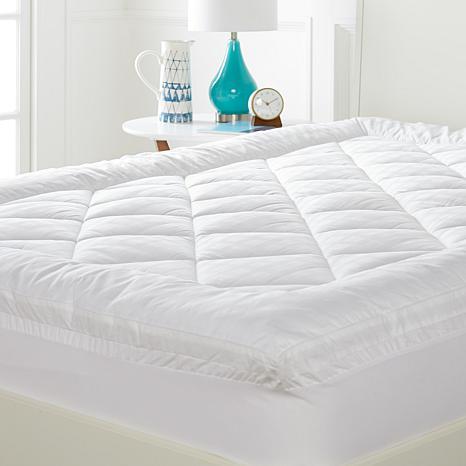 exclusive concierge collection 450tc 100 cotton pillowtop mattress topper