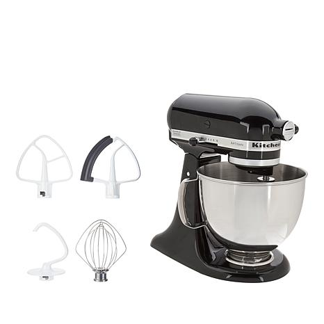 kitchen aid 5 qt mixer simple island kitchenaid artisan series quart stand with flex edge beater