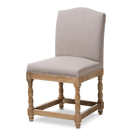 the chair rocking covers ebay paige french cottage upholstered dining 8696074 hsn