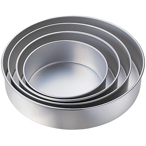 Performance Cake Pans 4Pkg Round 8 10 12 and 14