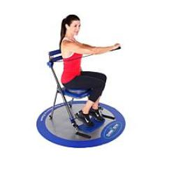 Chair Gym Exercise System With Twister Seat Graco High Cover Equipment For A Total Body Workout | Hsn