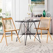 safavieh dining chairs office chair jysk room hsn wren 19 spindle