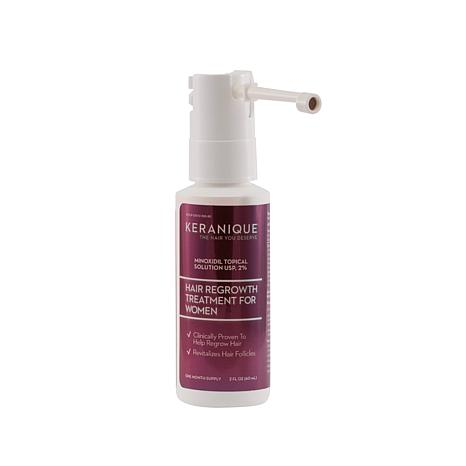 keranique hair regrowth treatment easy precision spray hsn