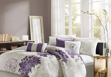 King Bedding Purple