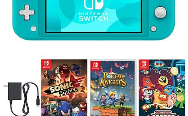Nintendo Switch Lite With Games 10080921 Hsn