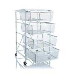 Kitchen Cart With Drawers Ceiling Lights Origami 4 Drawer Wood Shelf 8090500 Hsn
