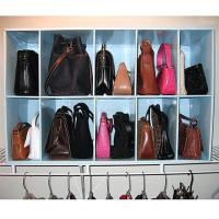 Park-a-Purse Closet Organizer with 10 Cubbies - 6275316 | HSN