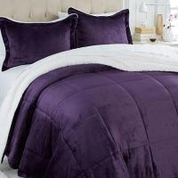 Soft & Cozy Sherpa Comforter Set - 8084928 | HSN