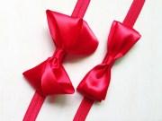 baby girl infant hair bow ribbon