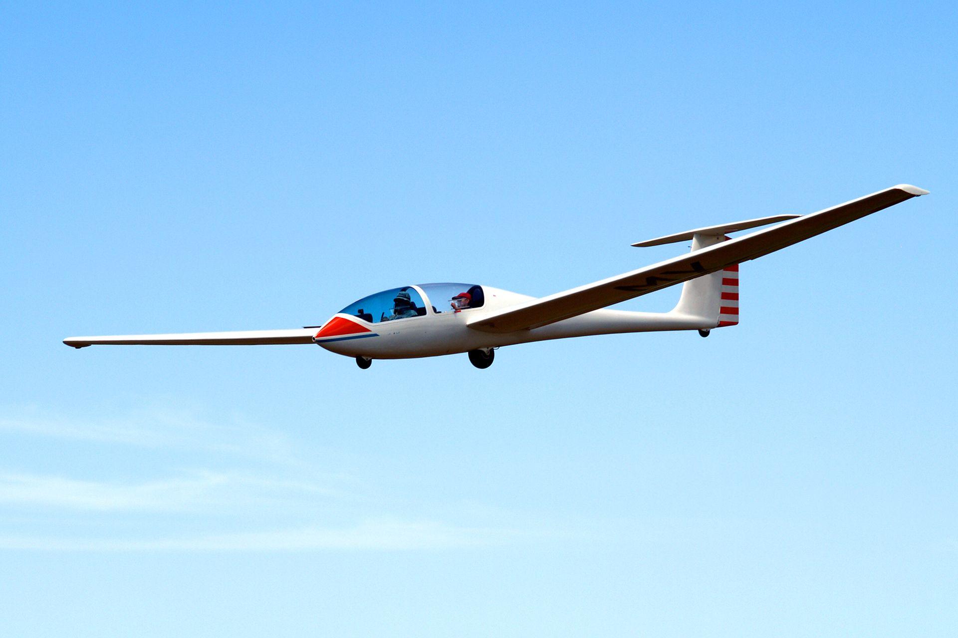 Segelfliegen ab 79  Dahingleiten ohne Motorantrieb