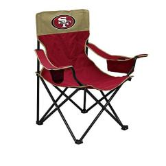 49ers Camping Chair Ikea Leather Covers Officially Licensed Nfl Big Boy Extreme Folding