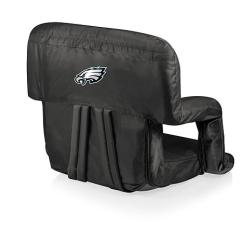 Philadelphia Eagles Chair Big And Ottoman Picnic Time Ventura Folding Stadium