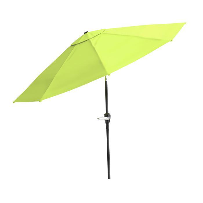 nature spring 10 ft patio umbrella auto tilt
