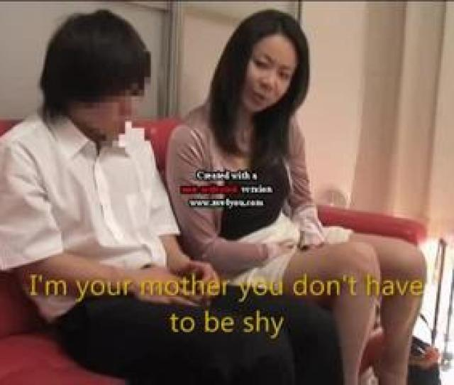 Japanese Mother And Son Watch Porn For Game Show