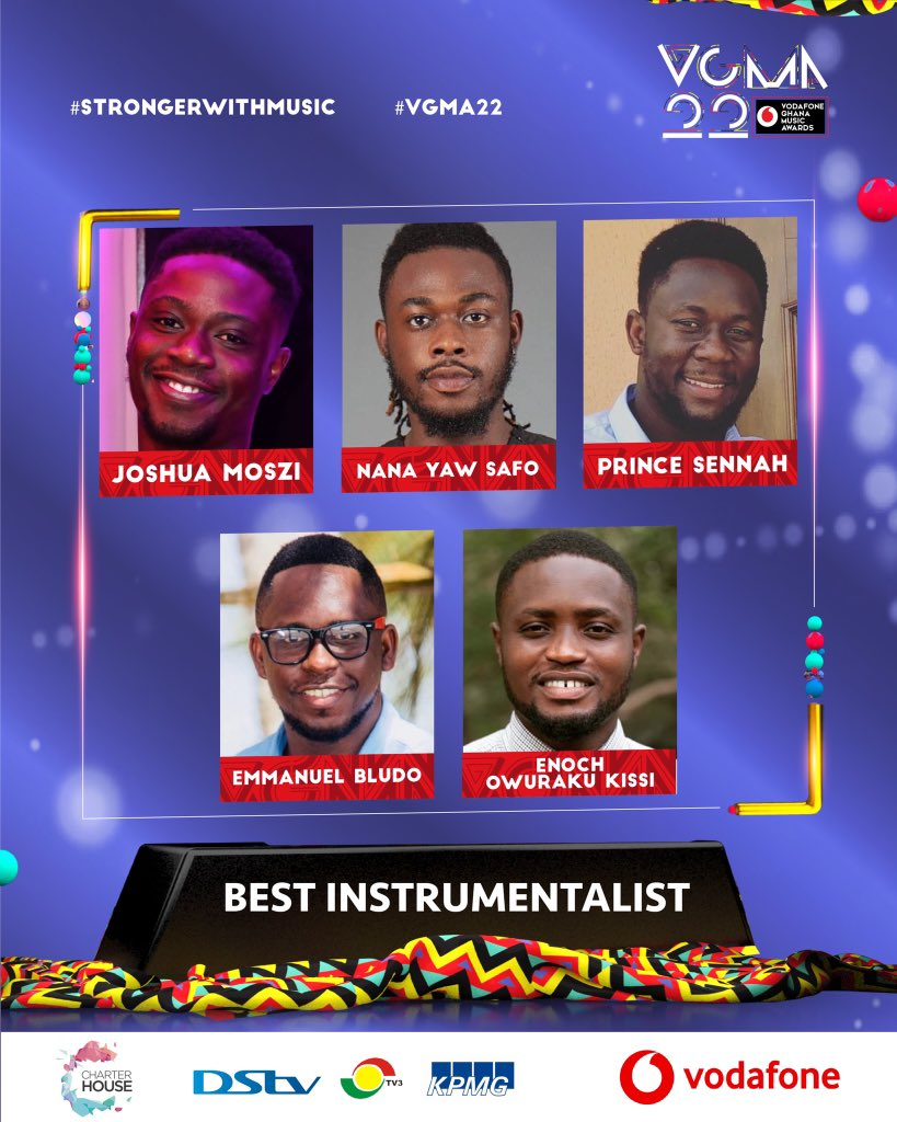 20210403 141052 Chartered House Has Released The NomineesList Of The 22nd Edition Of VGMA Awards