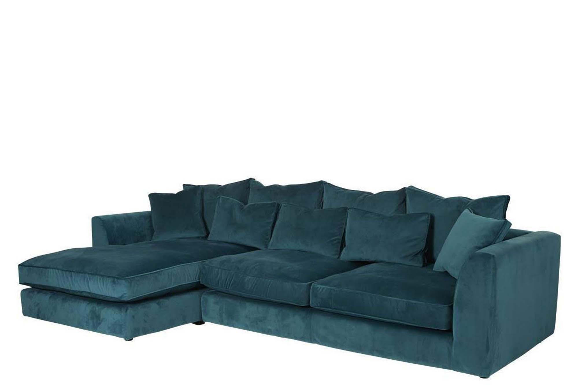 duck feather corner sofa inflatable wilkinsons bossanova right hand side large images