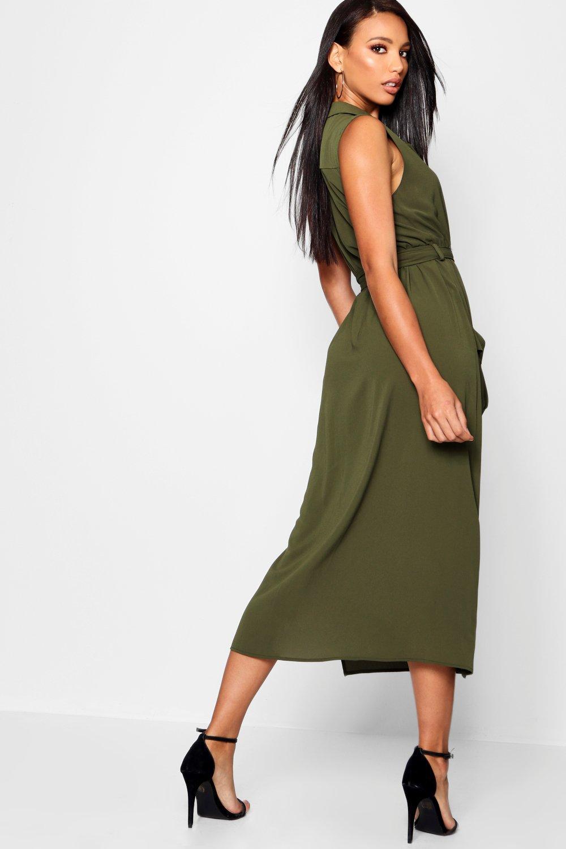Midi Shirt Dresses for Women