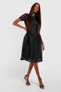 Boohoo Womens Zaira Boutique Full Skirted Prom Midi Dress ...