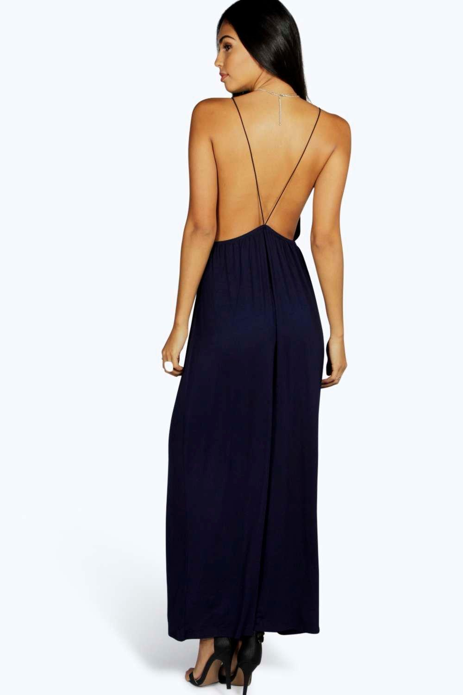 Strappy Back Maxi Dress